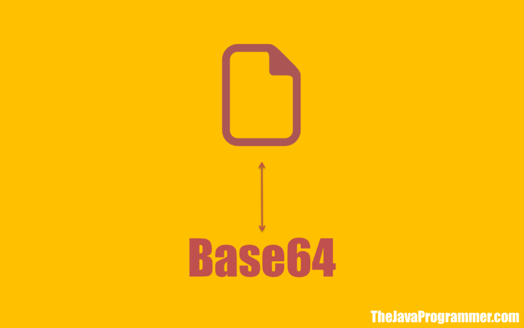 Convert Image to Base64 String or Base64 String to Image in Java
