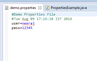 Java Properties File – How to Read and Write