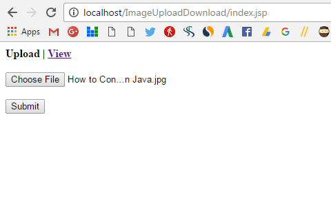 Save and Retrieve Image from MySQL Database Using Servlet and JSP