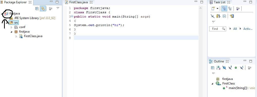 Error could not find or load main class in Eclipse 2