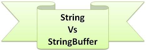 Difference between String and StringBuffer in Java