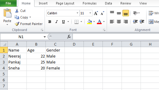 Java Read and Write Excel File Using Apache POI