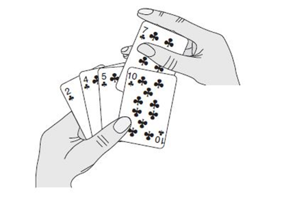Insertion Sort Principle (Playing Cards)